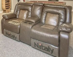 BRAND NEW NITALY LOVESEAT COUCH SOFA THEATRE SEAT