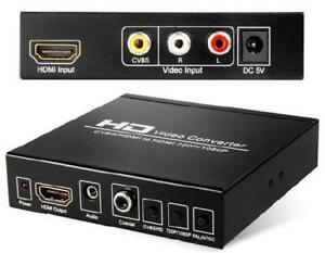 HD Video Converter - CVBS/HDMI to HDMI 720P/1080P - Extract Audi