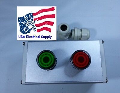 New Iluminate Push Button Switch Station Start Stop 110250vac