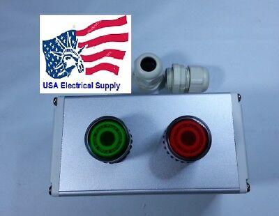 New Iluminate Push Button Sitch Station Start Stop Light 12-24vacdc
