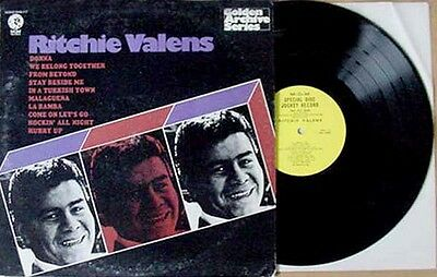 Ritchie Valens   Golden Archive Series   Mgm   Promo Lp