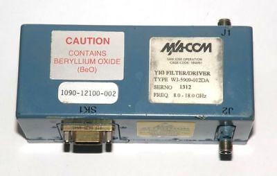 Macom Yig Filterdriver Type Wj-5909-012da 8-18 Ghz