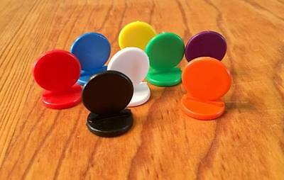Plastic Token (NEW Koplow Stand Up Game Pawns Set of 8 Plastic Tokens)