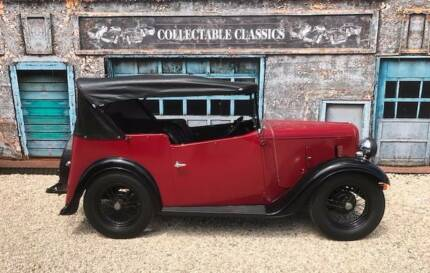COLLECTABLE CLASSIC CARS - 1935 Austin 7 Ruby Tourer Strathalbyn Alexandrina Area Preview