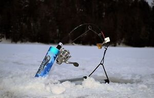 THE NEWEST AND HOTTEST AUTOMATIC ICE FISHING HOOK SETTER