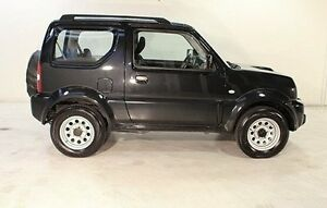 2013 Suzuki Jimny SN413 T6 Sierra Black 4 Speed Automatic Hardtop Wayville Unley Area Preview