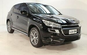 2012 Peugeot 4008 MY12 Active 2WD Black 6 Speed Constant Variable Wagon Wayville Unley Area Preview
