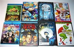Films de Noel, Halloween, animation DVD divers 4$ et +