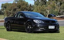 2013 Holden Ute VF MY14 SS Ute Black 6 Speed Manual Utility Wangara Wanneroo Area Preview