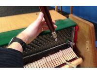 Piano Tuning and Repairs.