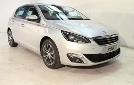 2014 Peugeot 308 T9 Allure Grey 6 Speed Sports Automatic Hatchback Wayville Unley Area Preview