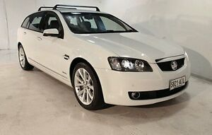 2010 Holden Calais VE MY10 V Sportwagon White 6 Speed Sports Automatic Wagon Wayville Unley Area Preview