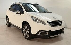 2015 Peugeot 2008 A94 Outdoor White 5 Speed Manual Wagon Wayville Unley Area Preview