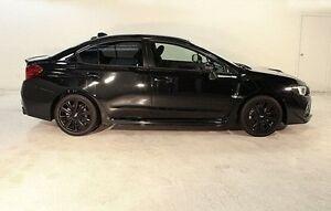 2014 Subaru WRX V1 MY15 AWD Black 6 Speed Manual Sedan Wayville Unley Area Preview