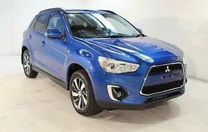 2015 Mitsubishi ASX XB MY15.5 LS Blue 6 Speed Sports Automatic Wagon Wayville Unley Area Preview