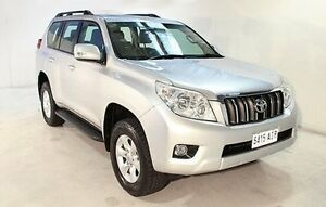 2010 Toyota Landcruiser Prado KDJ150R GXL Silver 5 Speed Sports Automatic Wagon Wayville Unley Area Preview