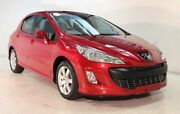 2011 Peugeot 308 T7 XSE HDI Red 6 Speed Sports Automatic Hatchback Wayville Unley Area Preview