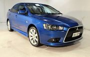 2014 Mitsubishi Lancer CJ MY14.5 VR-X Blue 6 Speed Constant Variable Sedan Wayville Unley Area Preview