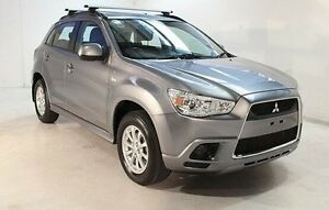 2011 Mitsubishi ASX XA MY11 2WD Grey 6 Speed Constant Variable Wagon Wayville Unley Area Preview