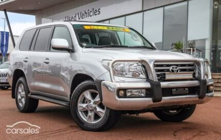 2011 Toyota Landcruiser VDJ200R MY10 Sahara Silver 6 Speed Sports Automatic Wagon
