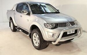 2011 Mitsubishi Triton MN MY11 GLX-R Double Cab Silver 5 Speed Manual Utility Wayville Unley Area Preview