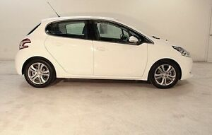 2014 Peugeot 208 A9 MY14 Allure White 4 Speed Automatic Hatchback Wayville Unley Area Preview