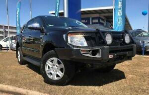 2014 Ford Ranger PX XLT Double Cab Black 6 Speed Sports Automatic Utility Berrimah Darwin City Preview