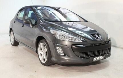 2008 Peugeot 308 T7 XSE HDI Grey 6 Speed Sports Automatic Hatchback Wayville Unley Area Preview