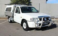 2003 Mazda Bravo  White Manual Cab Chassis Morphett Vale Morphett Vale Area Preview