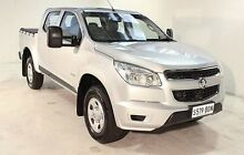 2014 Holden Colorado RG MY14 LX Crew Cab Silver 6 Speed Sports Automatic Utility Wayville Unley Area Preview