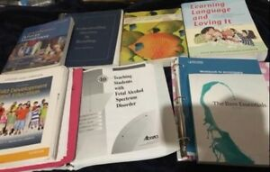 Educational Assistant course textbooks
