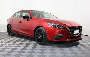 2014 Mazda 3 BM5238 SP25 SKYACTIV-Drive Red 6 Speed Sports Automatic Sedan Edwardstown Marion Area Preview
