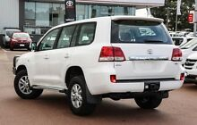 2009 Toyota Landcruiser VDJ200R GXL White 6 Speed Sports Automatic Wagon Balcatta Stirling Area Preview