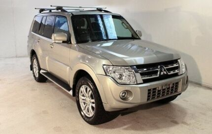 2013 Mitsubishi Pajero NW MY14 VR-X Gold 5 Speed Sports Automatic Wagon Wayville Unley Area Preview