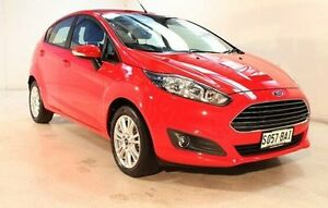2014 Ford Fiesta WZ Trend Red 5 Speed Manual Hatchback Wayville Unley Area Preview