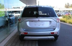 2014 Mitsubishi Outlander ZJ MY14.5 LS 4WD Silver 6 Speed Sports Automatic Wagon Wayville Unley Area Preview