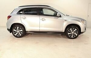 2015 Mitsubishi ASX XB MY15 LS 2WD Silver 6 Speed Constant Variable Wagon Wayville Unley Area Preview