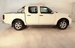 2011 Nissan Navara D40 MY11 ST-X White 6 Speed Manual Utility Wayville Unley Area Preview