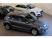 VOLKSWAGEN POLO 1.4 SE TDI BLUEMOTION 5DR (nimbus grey metallic) 2014