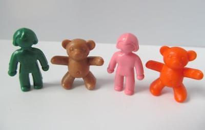 Playmobil dollshouse 2 dolls & 2 teddy toys for child figures NEW