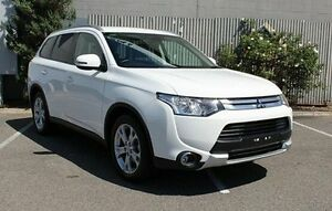 2014 Mitsubishi Outlander White Sports Automatic Wagon Morphett Vale Morphett Vale Area Preview
