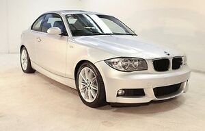 2008 BMW 125I E82 Silver 6 Speed Automatic Coupe Wayville Unley Area Preview