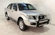 2012 Nissan Navara D40 S5 MY12 ST-X 550 Silver 7 Speed Sports Automatic Utility Wayville Unley Area Preview