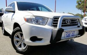 2008 Toyota Kluger GSU45R KX-R AWD White 5 Speed Sports Automatic Wagon Bellevue Swan Area Preview
