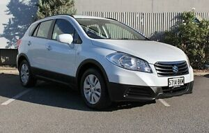 2014 Suzuki S-Cross White Manual Hatchback Morphett Vale Morphett Vale Area Preview