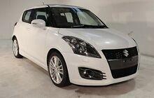 2013 Suzuki Swift FZ Sport White 7 Speed Constant Variable Hatchback Wayville Unley Area Preview