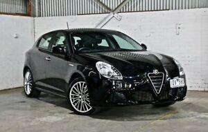 2014 Alfa Romeo Giulietta Series 0 MY13 Progression TCT JTD-M Black 6 Speed Thomastown Whittlesea Area Preview