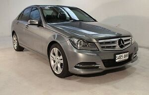 2013 Mercedes-Benz C200 CDI W204 MY13 Elegance 7G-Tronic + Silver 7 Speed Sports Automatic Sedan Wayville Unley Area Preview