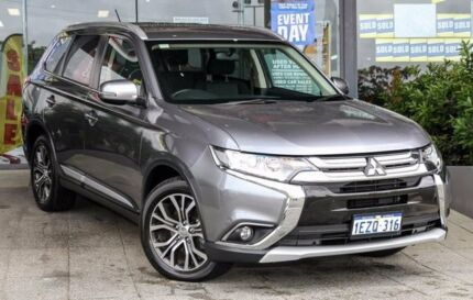 2016 Mitsubishi Outlander ZK MY16 LS 2WD Titanium 6 Speed Constant Variable Wagon Myaree Melville Area Preview
