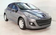 2010 Peugeot 207 A7 Series II MY10 XT Grey 4 Speed Sports Automatic Hatchback Wayville Unley Area Preview